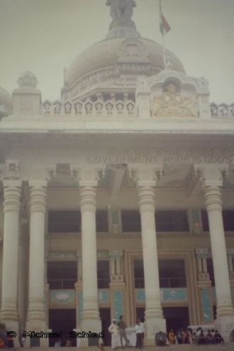 Assembly Building, Bangalore (Karnataka, India)