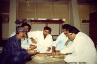 Lunch in the Sindh Archives, Karachi