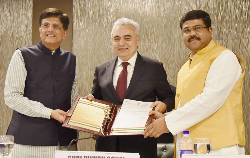 India 'Reactivates' Its Association Status with IEA