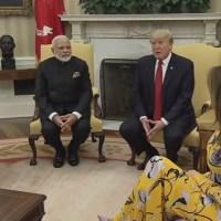 President Trump, PM Modi Joint Press Statement Reveals Little (Videos)