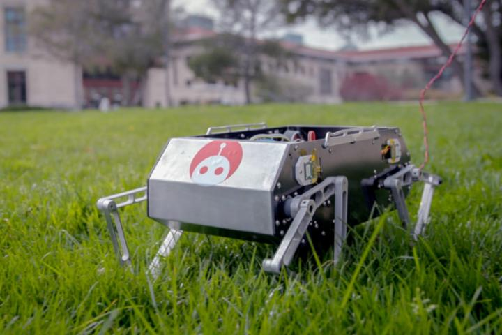 This student-made robot dog jumps, flips and trots, will you buy?