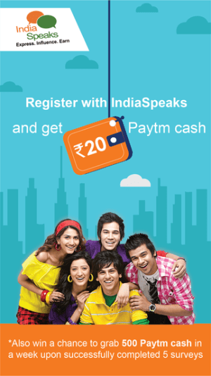 Free Rs 20 Paytm Cash