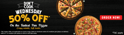 Pizza Hut Wednesday Offer