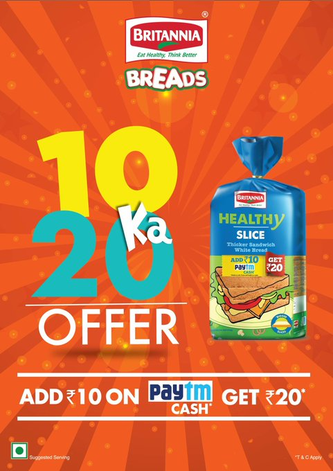Paytm Britannia Offer