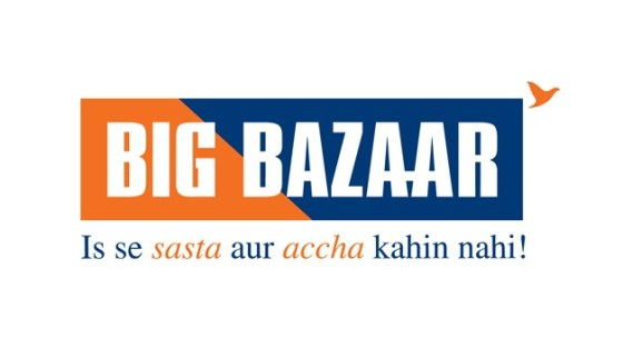 Free Rs 100 off Big Bazaar Coupon
