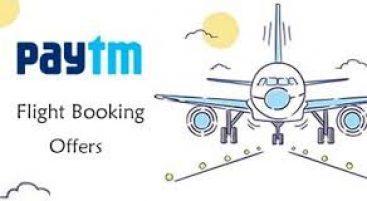 Paytm Flight Booking Offer - Book Flight Tickets & Get Upto 100% Cashback