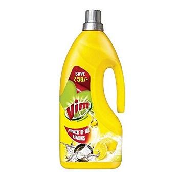 Vim Dishwash Gel Lemon 1.8 L At ₹201 [After Cashback] - Amazon