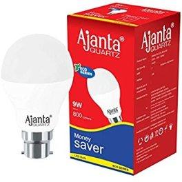 Buy Ajanta 9-Watt LED Bulb (Pack of 4 ,white) Rs 275 Only
