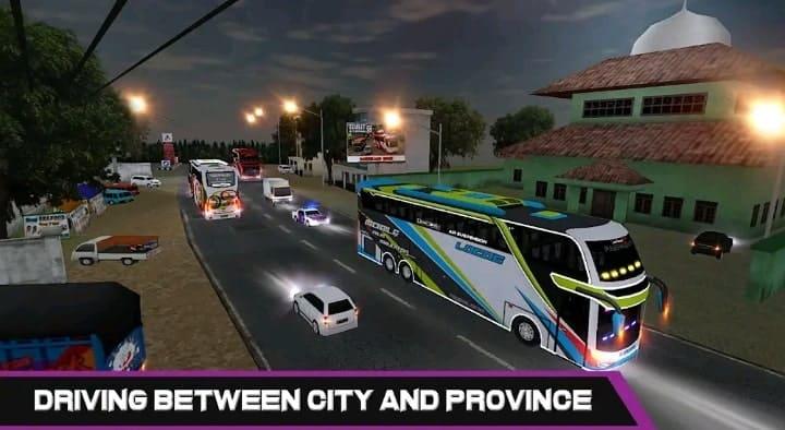 mobile bus simulator  game