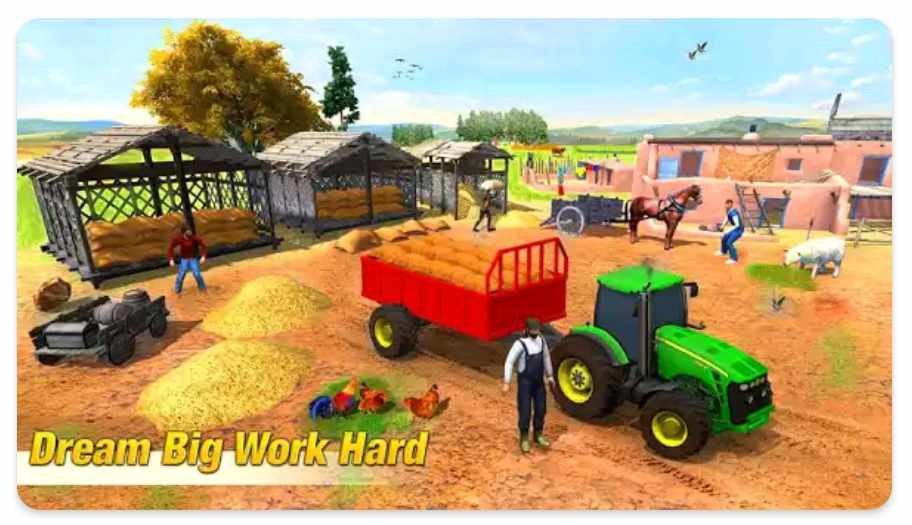 Tractor Farming Game