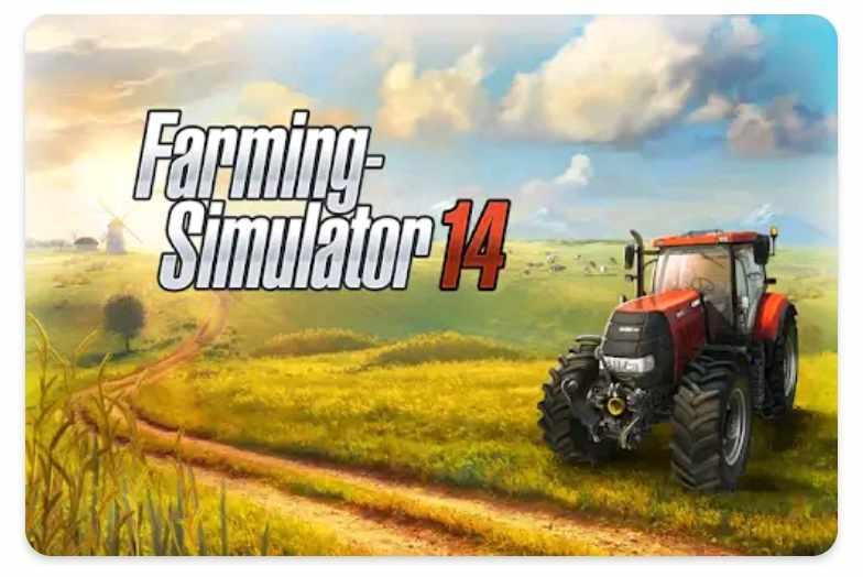 Farming Simulator 14 Tractor Wala Game