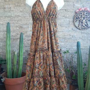 Vestido Gypsy Pasley Pumpkin