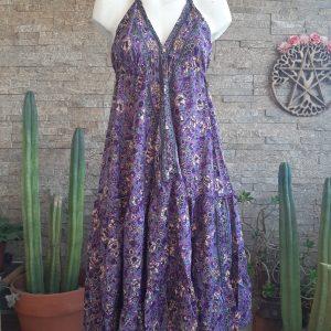 Vestido Gypsy Wildflower Lavanda