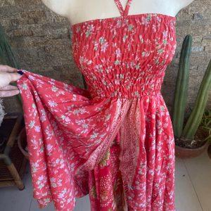 Vestido-Falda Floreado