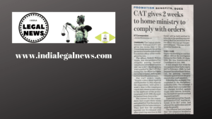 Promotion Benefits And Dues Cases in CAT Chandigarh