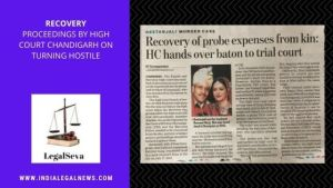 Recovery Proceedings by High Court Chandigarh on Turning Hostile