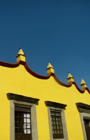 Coyoacan architecture
