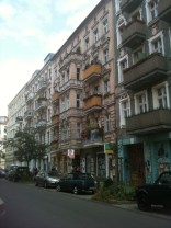 Typical Berlin street