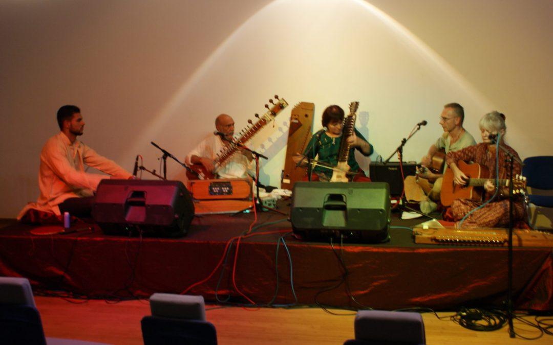 Sitar- Mantra Singen Konzert: Osho Mahabodhi, Heidelberg: 17.09.2016