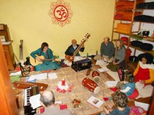 Vocal soft indian music workshop