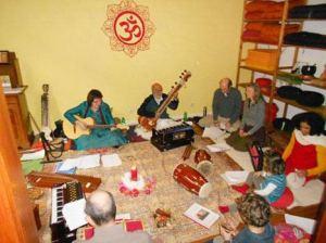 Vocal soft indian music workshop