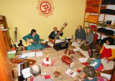 Vocal soft indisches Musik Seminar