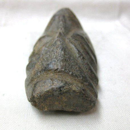 Fossil Pliocene Age Bone-Tusk Carving from Java Indonesia