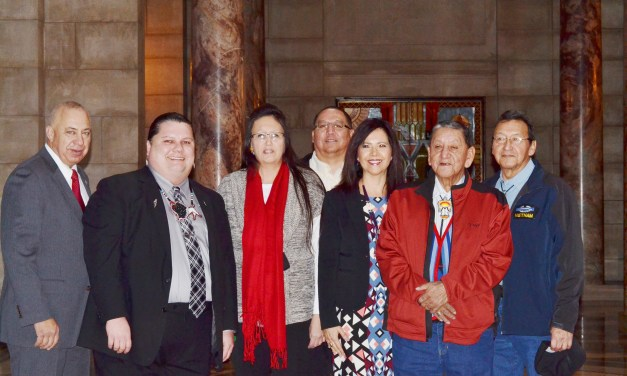 Nebraska Tribal Leaders Attend Governor's State of the State Address