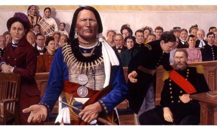 Nebraska Virtual Capitol Tour: Chief Standing Bear