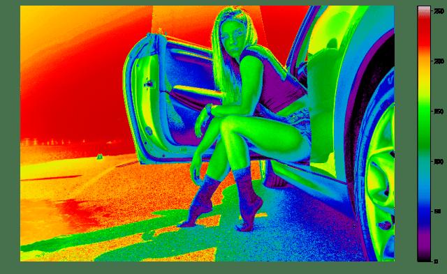 matplotlib imshow - model with nipy_spectral