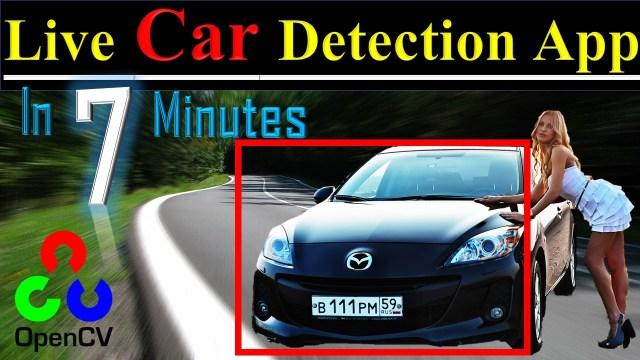 live car detection app