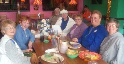 Jan 26th 2013 North Eats at Bandidos, Ft. Wayne