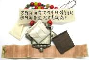 Antique Tibetan Gau Box, Tibetan Ghau Box Necklace