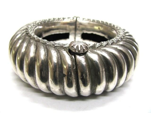 Antique Indian Bracelet, Antique Indian Anklet, Gujarat or Rajasthan Bracelet, 223 Grams