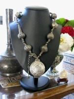 Antique Sri Lanka Necklace, Killotaya, Lime Box