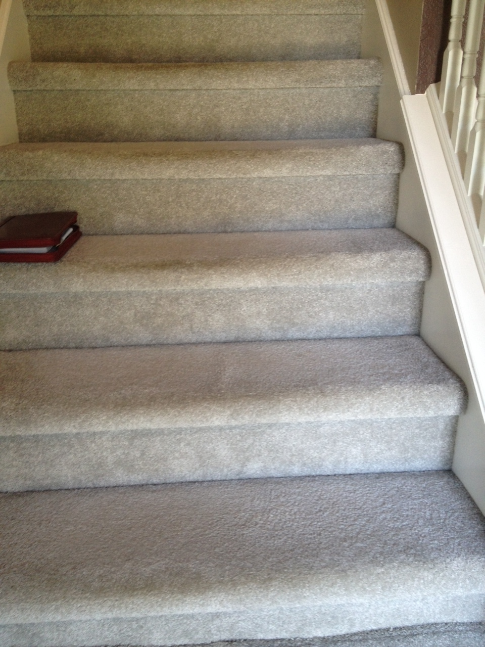 Carpet On Stairs Not Installed Correctly Indianapolis Carpet   Putting Carpet On Stairs   Design   Wear And Tear   Commercial   Stair Turned   Step