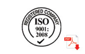 ISO Certification Download