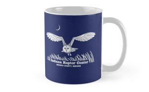 Indiana Raptor Center barn owl mug