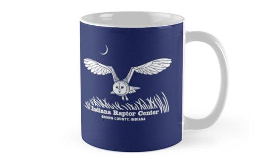 Indiana Raptor Center barn owl mug