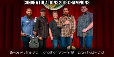 2019 Indiana Fingerstyle Guitar Fest Winners