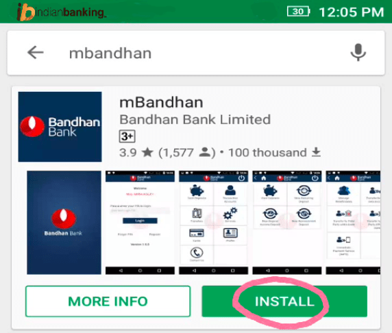 Bandhan Bank Mobile Banking