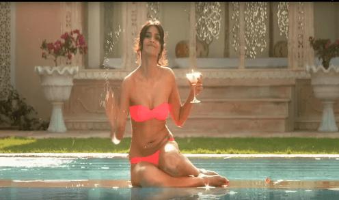 sonam kapoor pink bikini