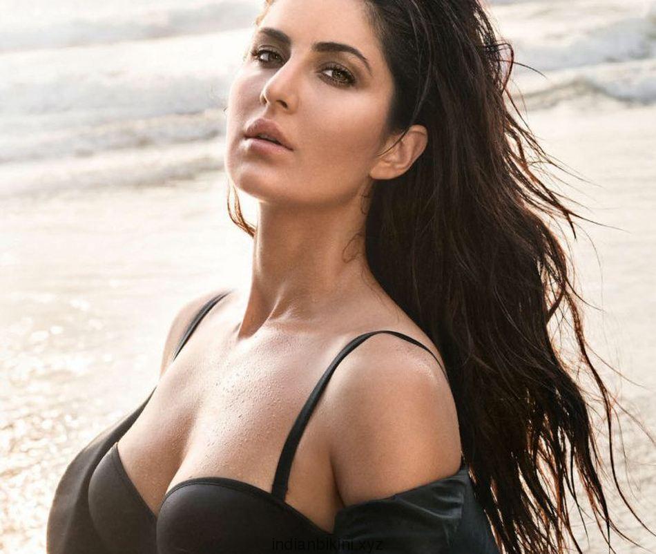 Katrina Kaif's sexy black GQ shoot | Indian Bikini