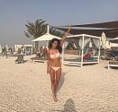 natasha yas beach