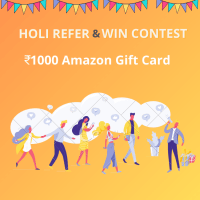 Holi Special Refer & Win Contest!!
