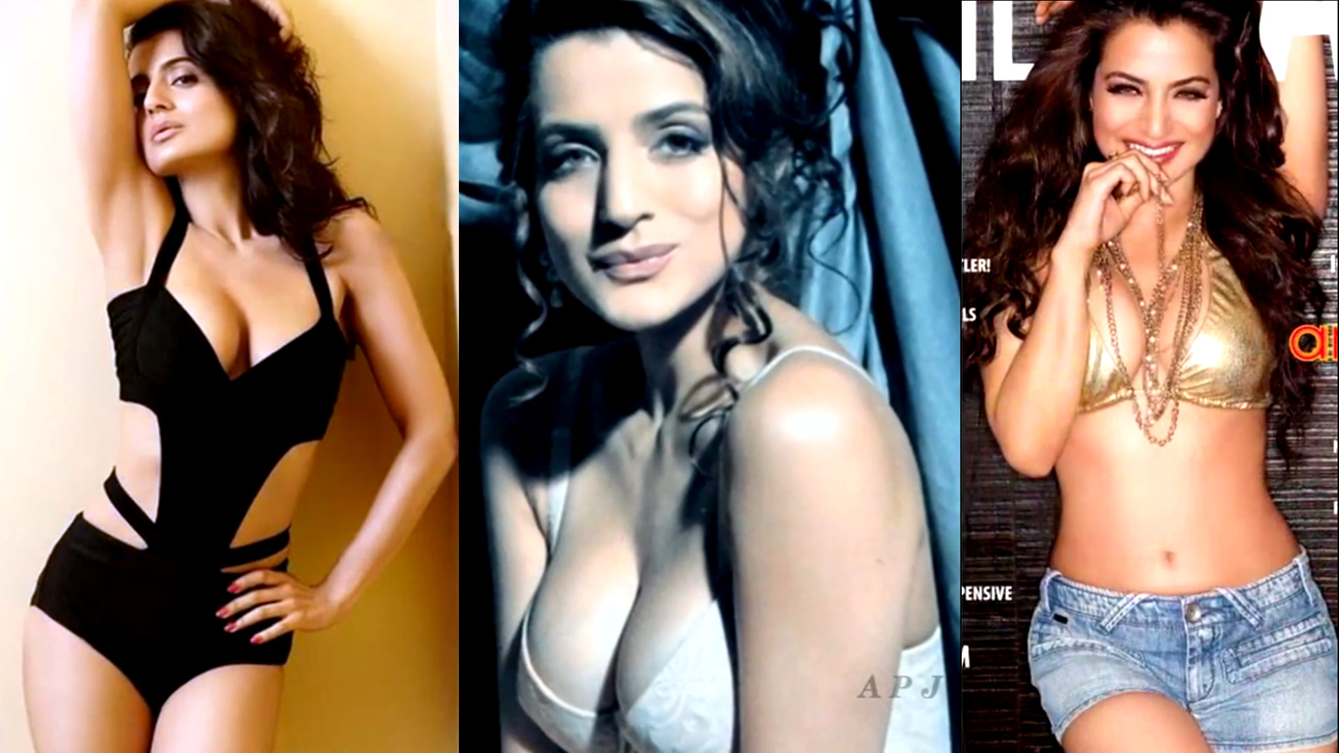 Ameesha Patel Hot Lingerie Photoshoot