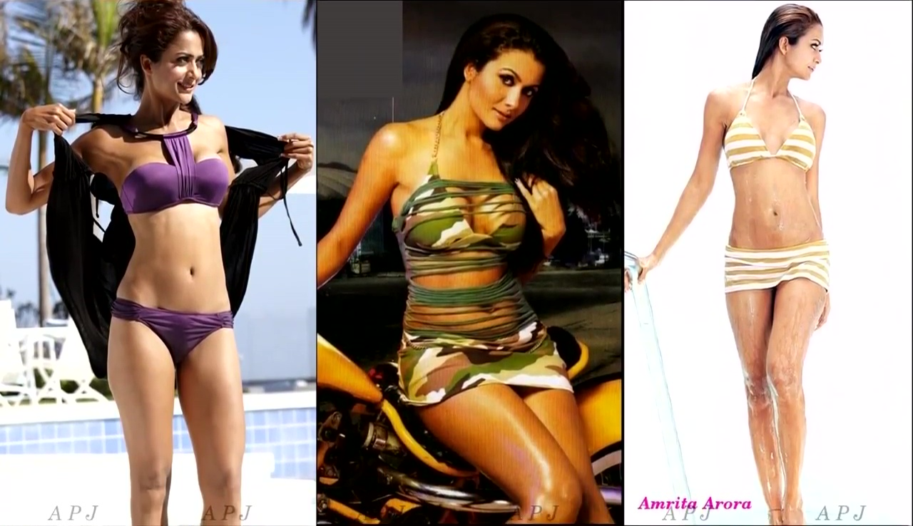 Amrita Arora Bollywood Actress Hot Bikini Photo 5