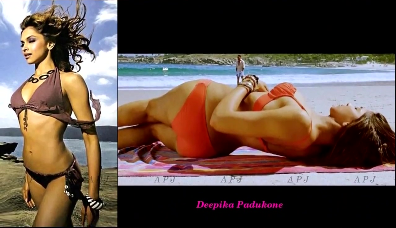 Deepika Padukone Bollywood Actress Hot Bikini Photo 9