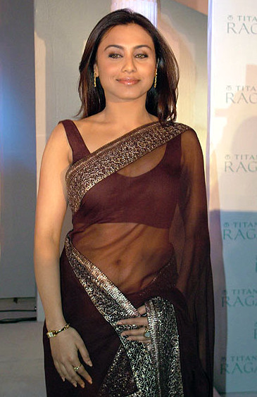Rani Mukherjee_020_BWEvent Brown TSaree