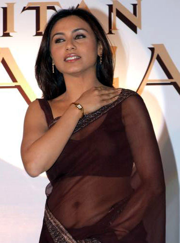Rani Mukherjee_024_BWEvent Brown TSaree